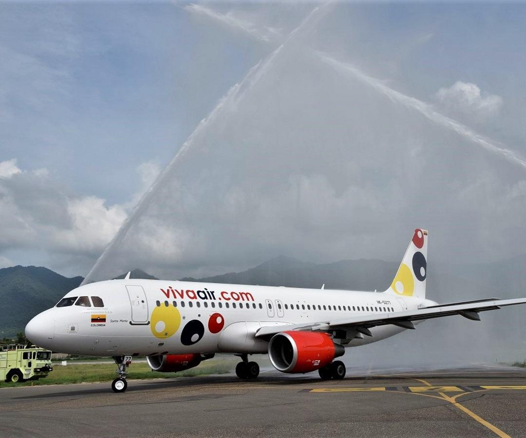 Resultado de imagen para Viva Air Colombia