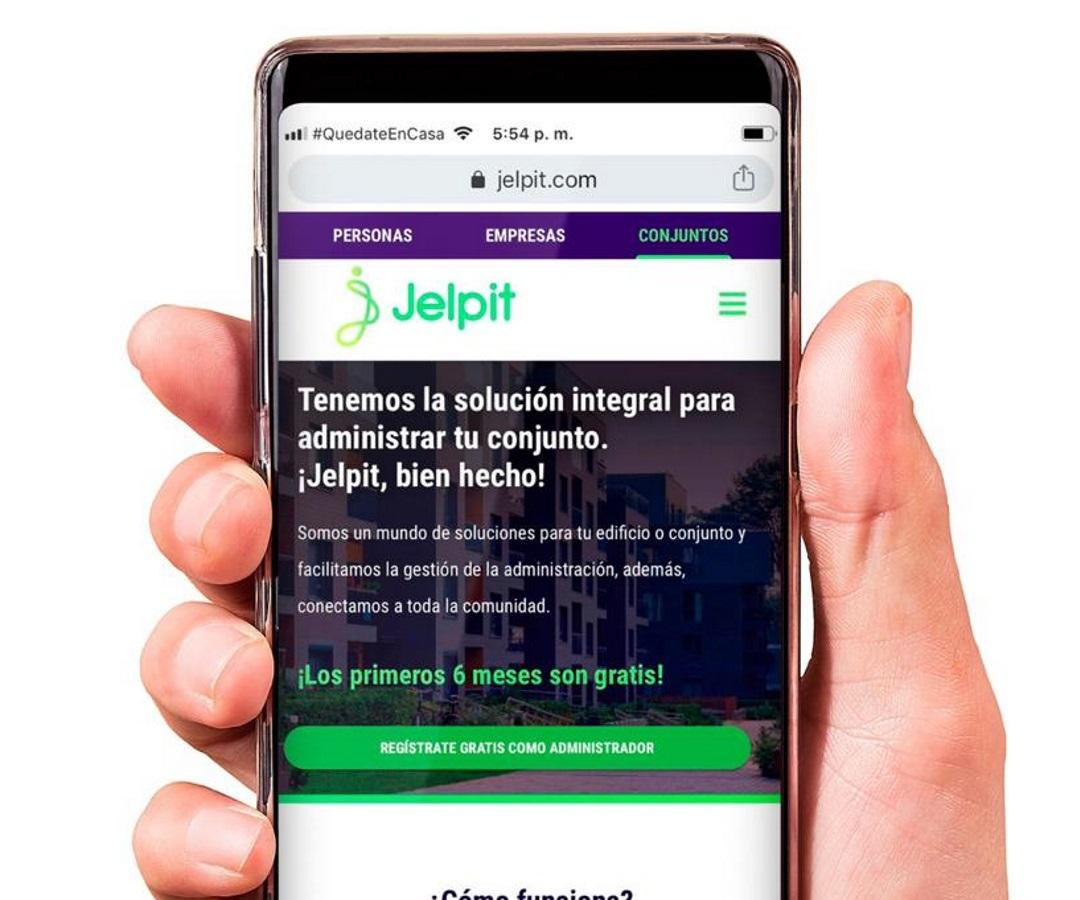 Jelpit, la plataforma para que los conjuntos residenciales cumplan protocolos de bioseguridad