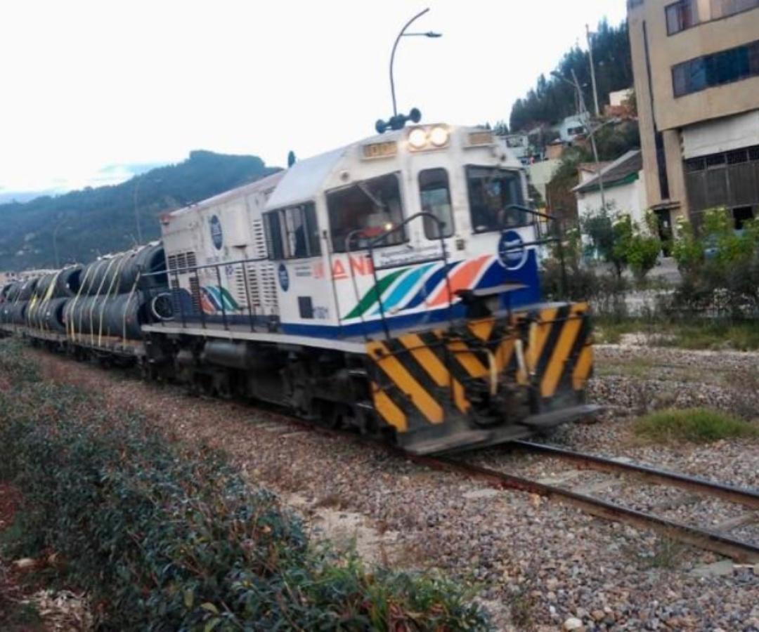 Corredor férreo Bogotá- Belencito, movilizó por primera vez 220 toneladas de alambrón