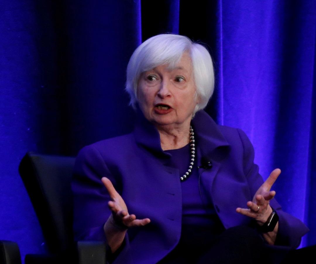 La primera Secretaria del Tesoro de EE.UU.