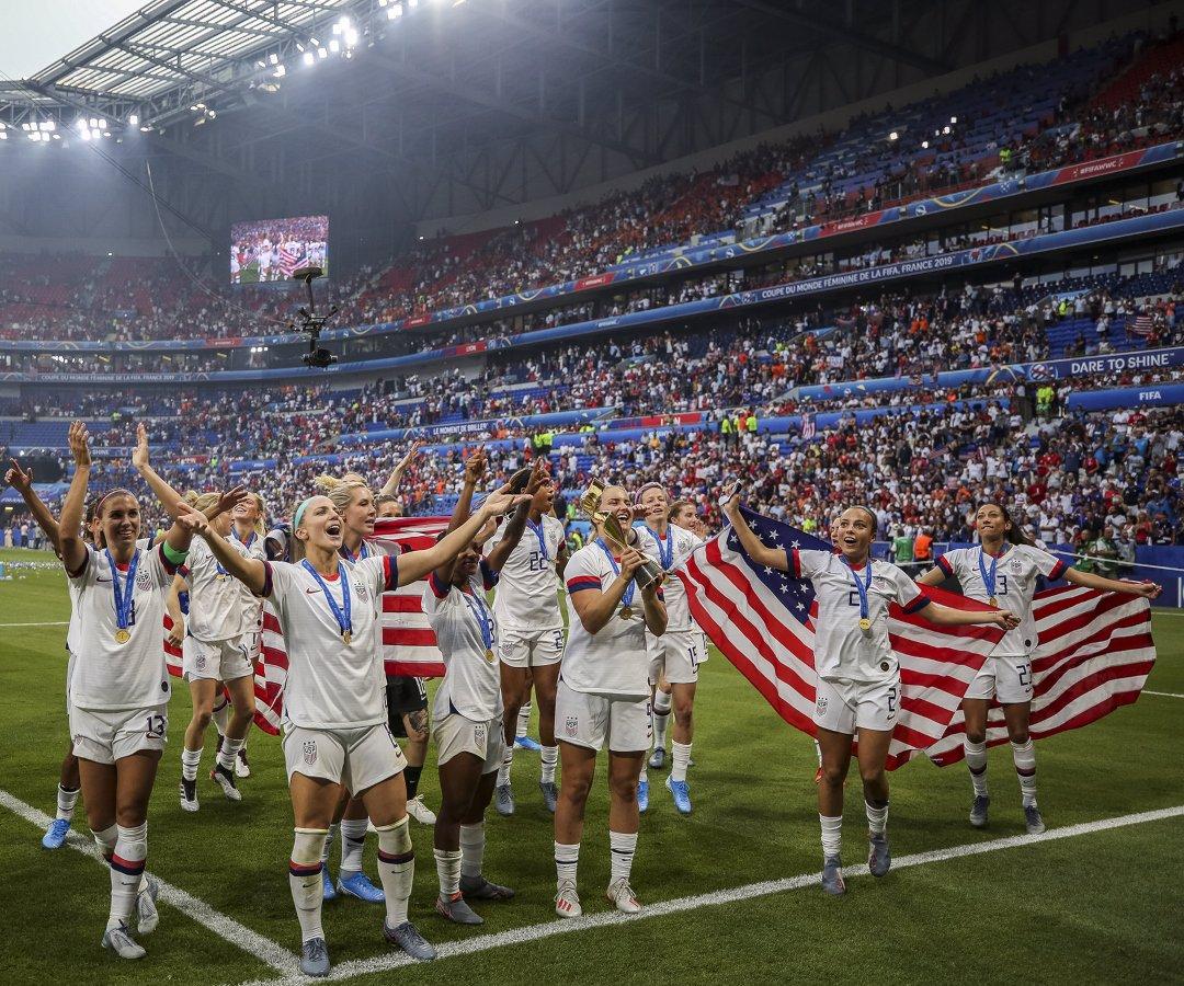 Resultado de imagen para Mundial de Fútbol en julio de 2019 GANADORAS