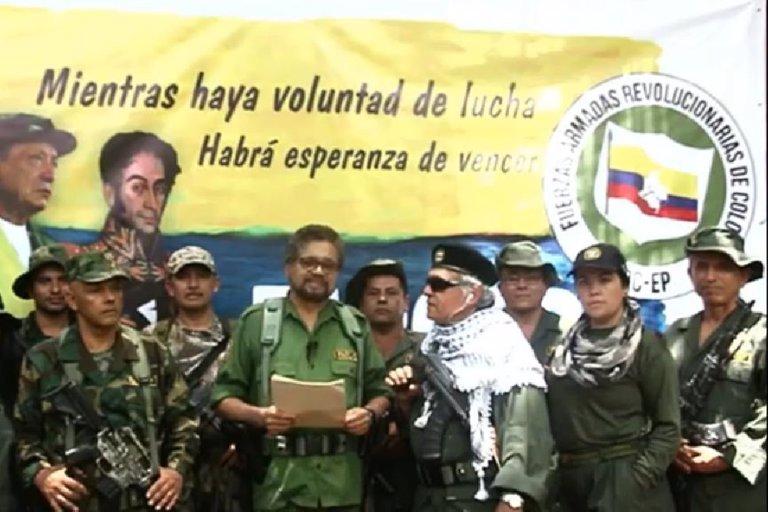 Reaparecen Iván Márquez, Jesús Santrich y El Paisa en Guainía