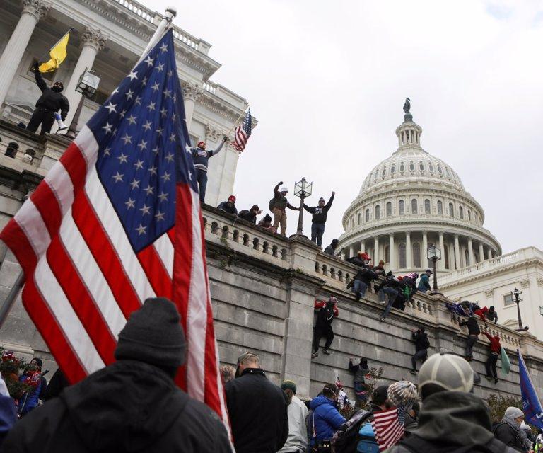 Las mejores imágenes del asalto al Congreso de Estados Unidos